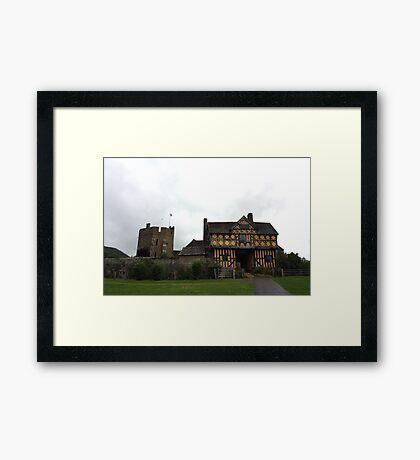 Stokesay Castle 1 Framed Print