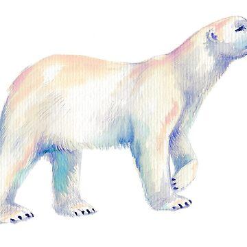 Polar Bear by ThistleandFox