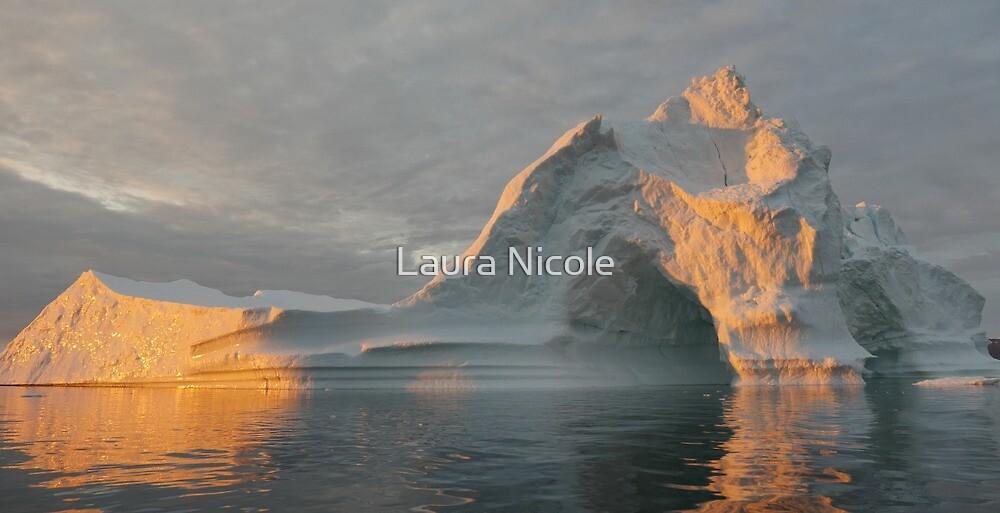 Iceberg in Greenland by Laura Nicole