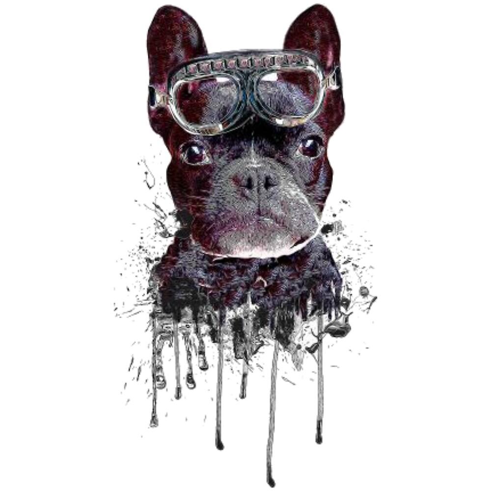 dog sungless t shirt by Thiago Barbosa