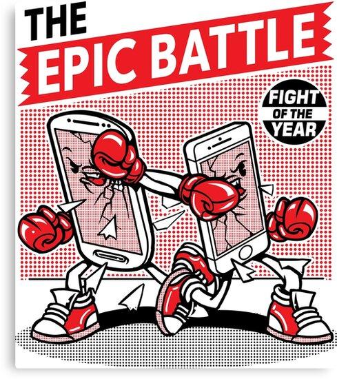 Epic Battle by ArtemNovus