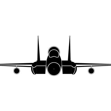 f-15 fighter jet by tinncity