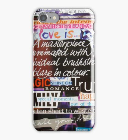 Love Is... iPhone Case/Skin