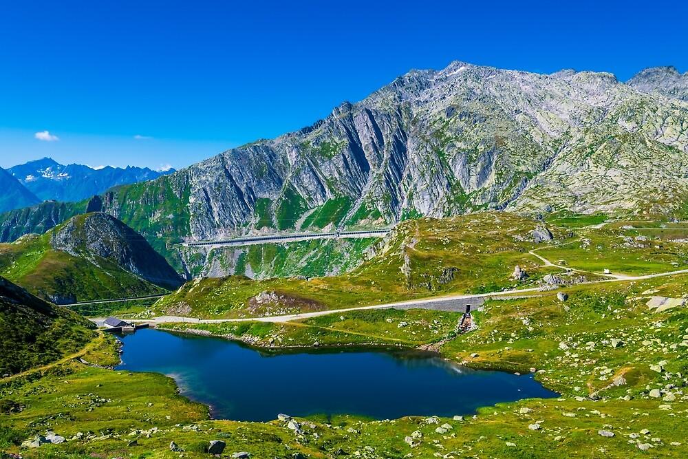 Lago dei Morti - Switzerland by PeterCseke