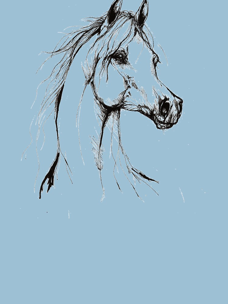 Classy Horse Head Design by oceanus183