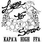 Kapa'a High FFA Logo - Lines by Morgan Carpenter
