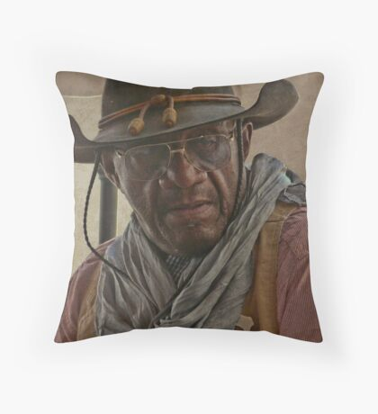 Buffalo Soldier Throw Pillow