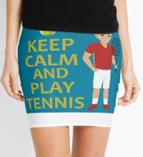 Funny design for tennis fans Mini Skirt