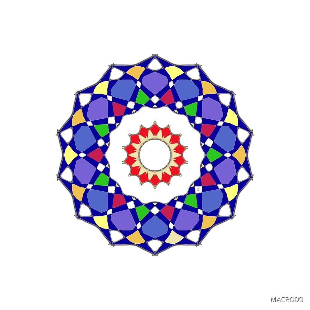 Mandala File Multicolor by MAC2009