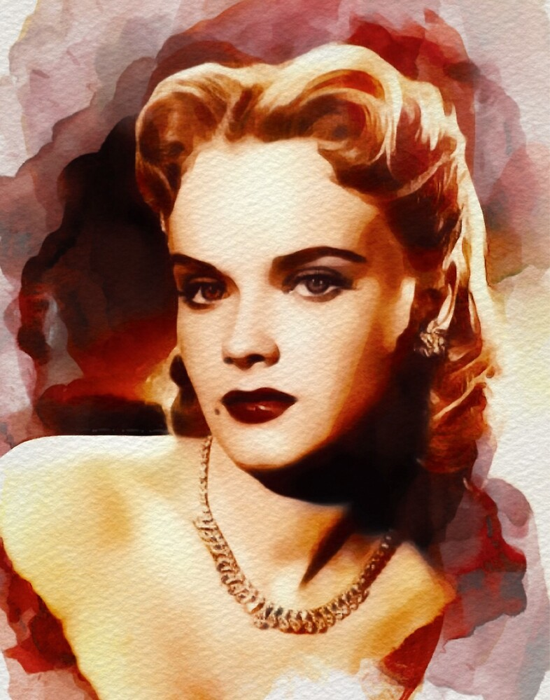 Anne Francis, Hollywood Legend by SerpentFilms