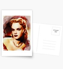 Anne Francis, Hollywood-Legende Postkarten