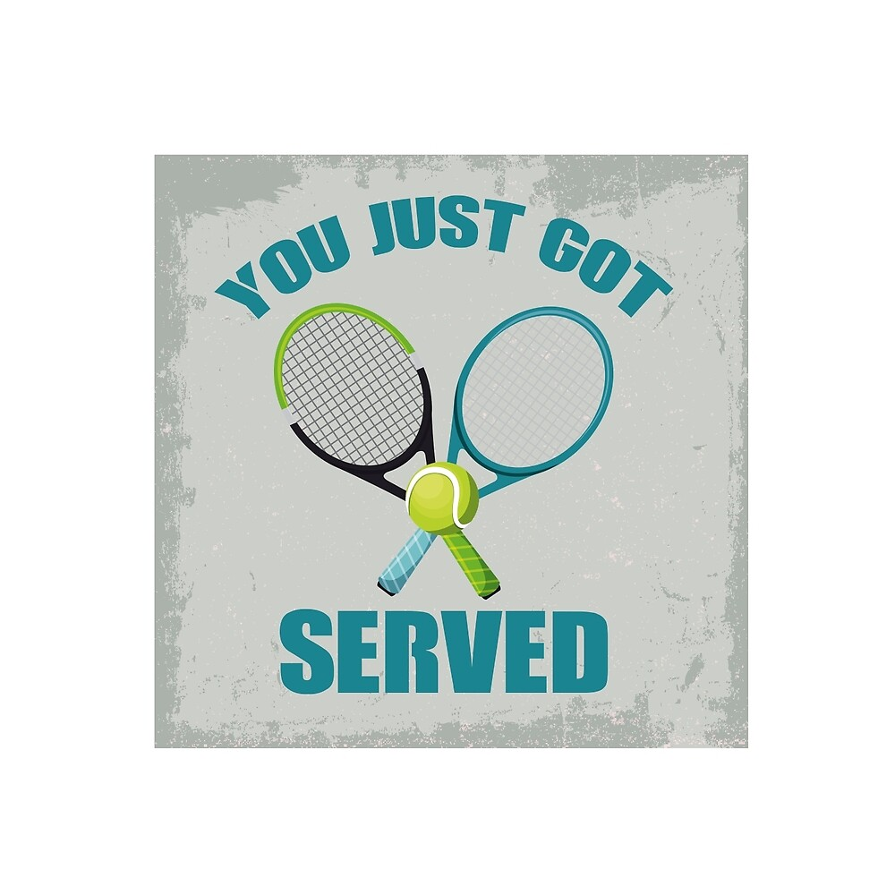 Funny design for tennis fans by Bansheesw