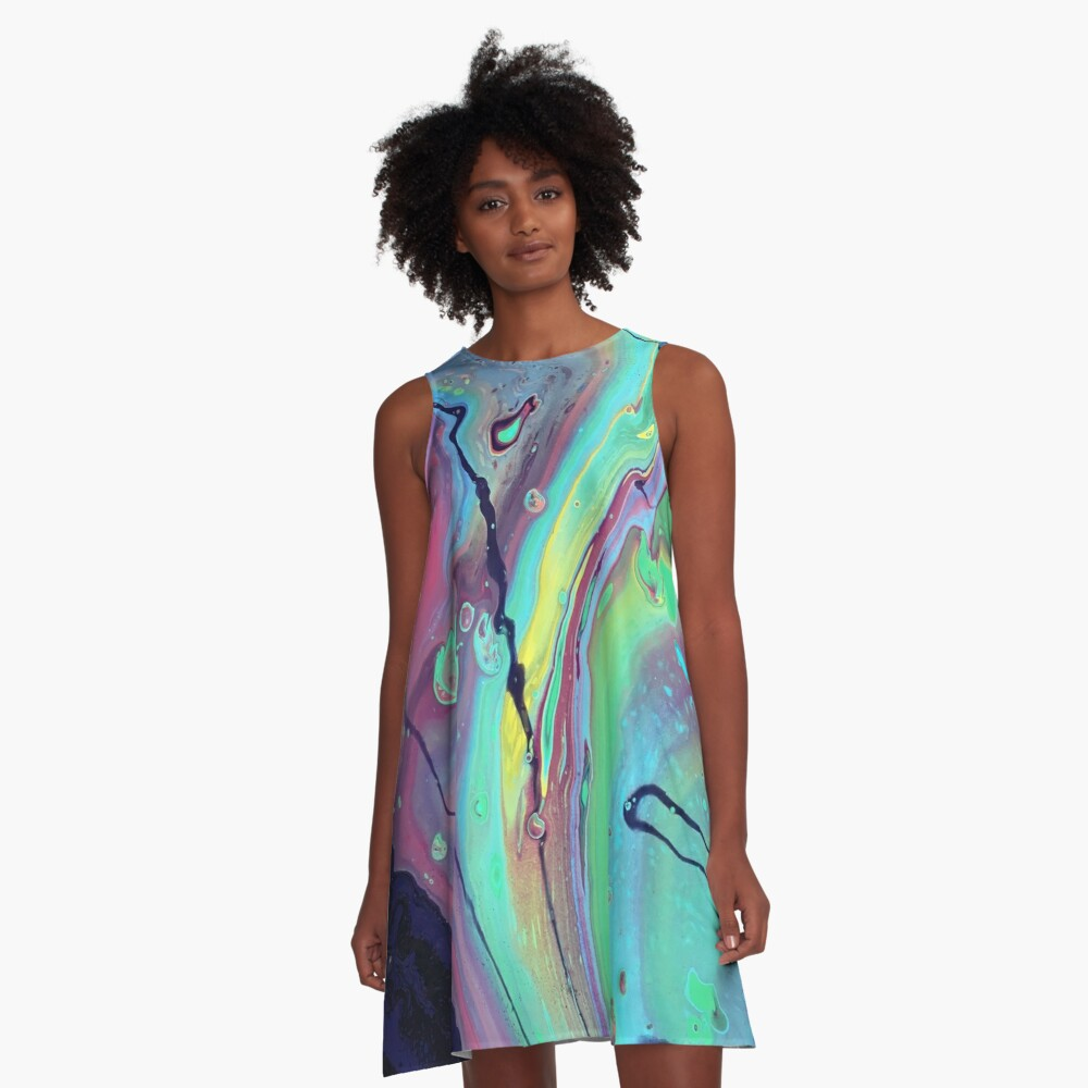 Mystery A-Line Dress Front