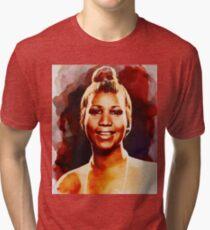 Aretha Franklin, Music Legend Tri-blend T-Shirt