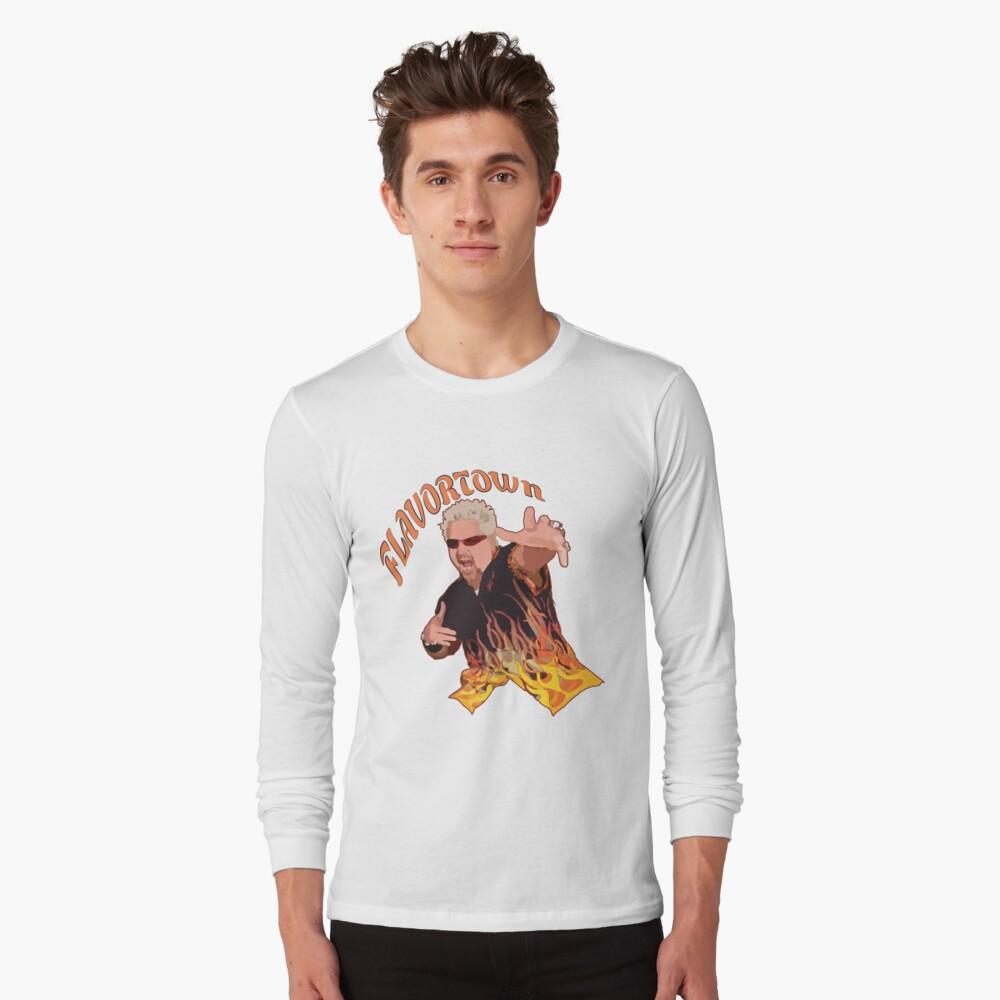 Guy Fieri Flavortown Long Sleeve T-Shirt
