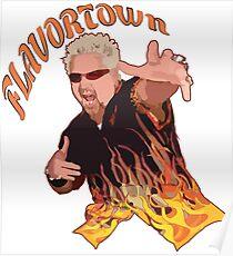 Guy Fieri Flavortown Poster