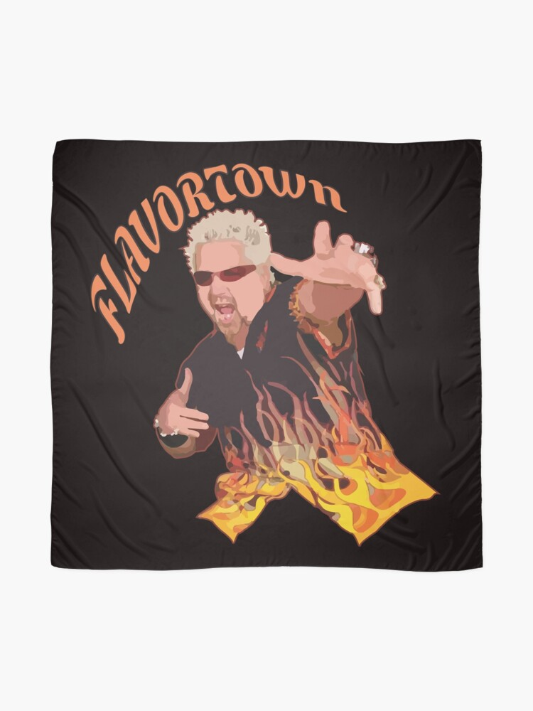 Alternate view of Guy Fieri Flavortown Scarf