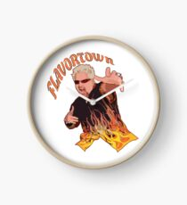 Guy Fieri Flavortown Clock