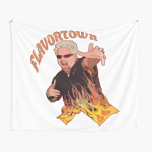 Guy Fieri Flavortown Tapestry