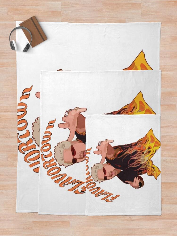 Alternate view of Guy Fieri Flavortown Throw Blanket