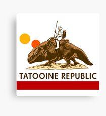 Combat Vehicle Raptor Tatooine Canvas Print
