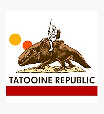 Combat Vehicle Raptor Tatooine Photographic Print
