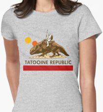 Combat Vehicle Raptor Tatooine Women's Fitted T-Shirt