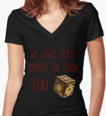 Lament Configuration Women's Fitted V-Neck T-Shirt