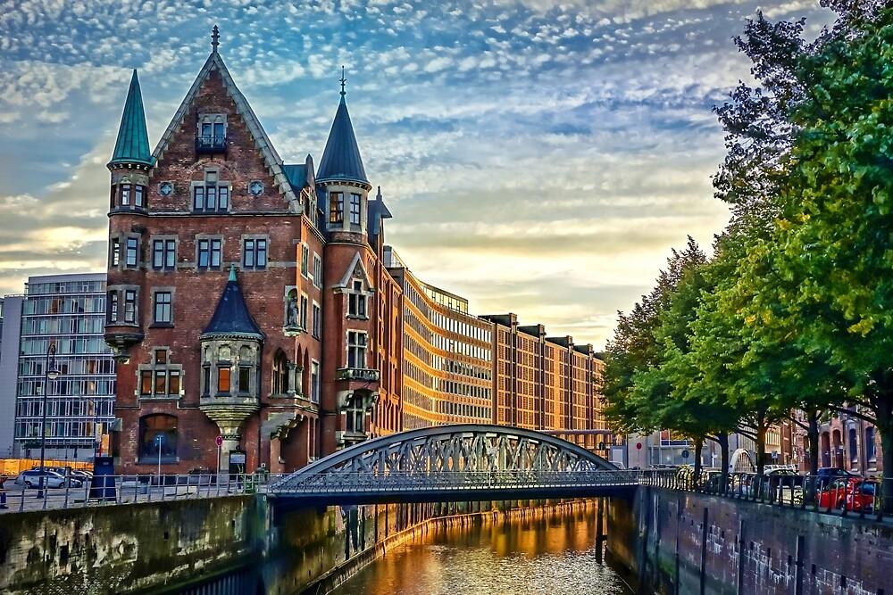 Hamburg Architecture by Dawn van Doorn