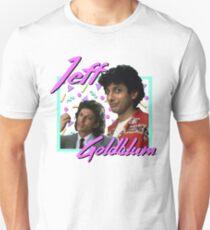 80er Jahre Jeff Goldblum Slim Fit T-Shirt