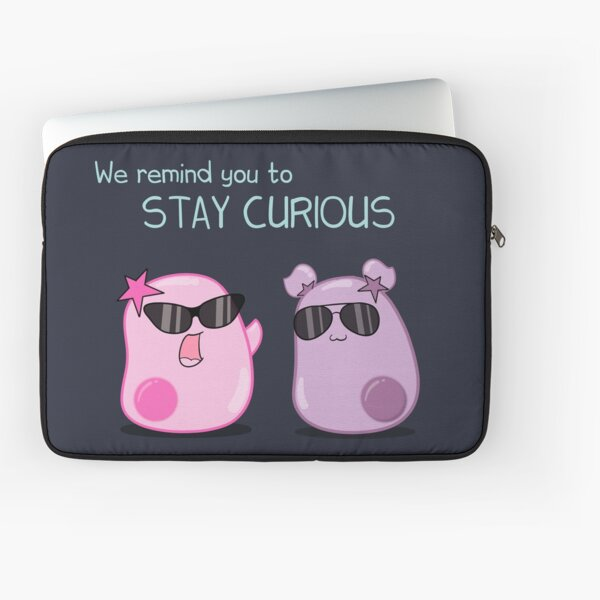 Stay Curious! with the Amoeba Sisters Laptop Sleeve