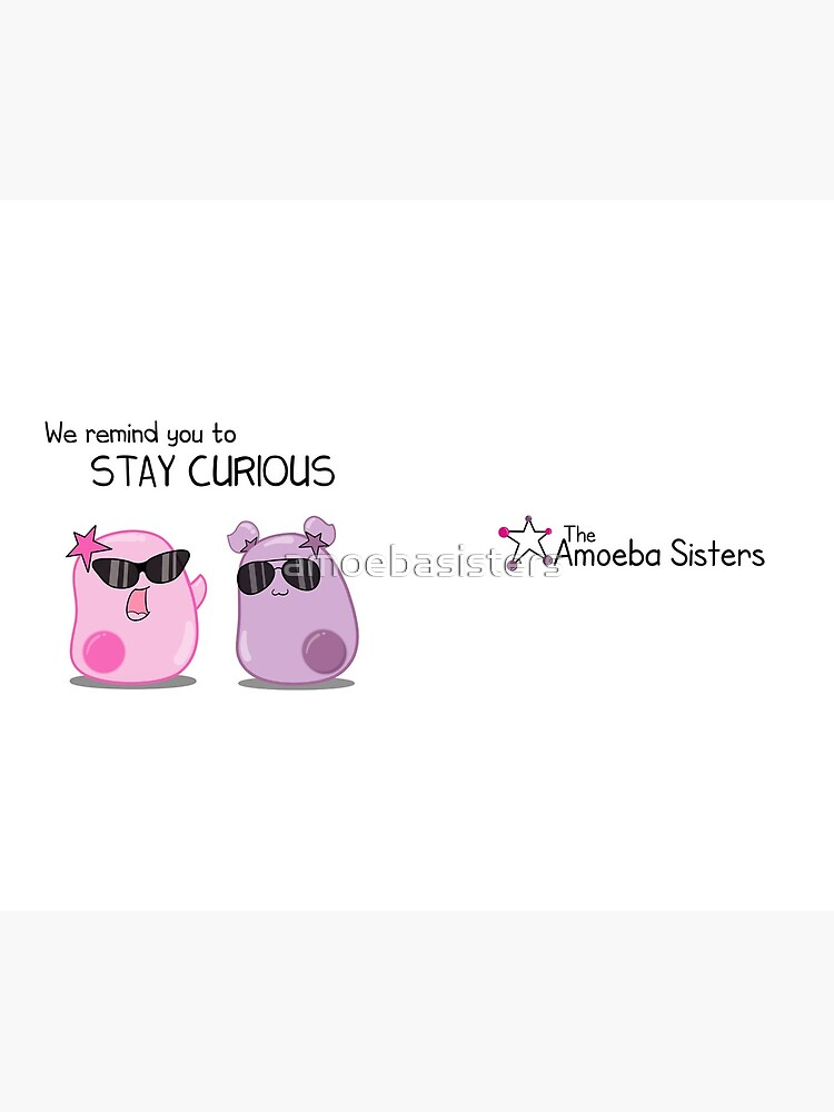 Stay Curious! with the Amoeba Sisters by amoebasisters