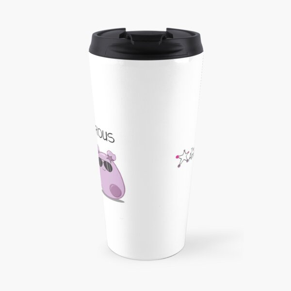 Stay Curious! with the Amoeba Sisters Travel Mug