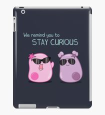 Stay Curious! with the Amoeba Sisters iPad Case/Skin