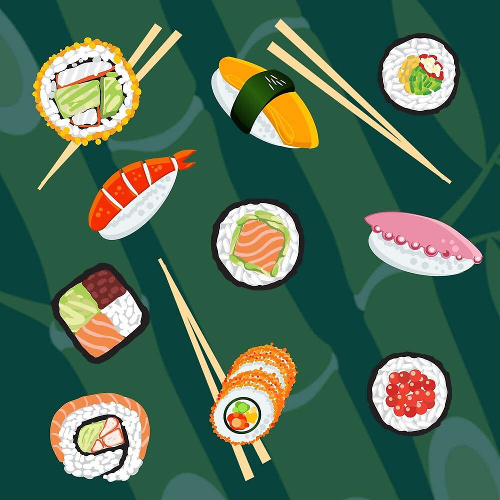 Sushi party by ELY-designs