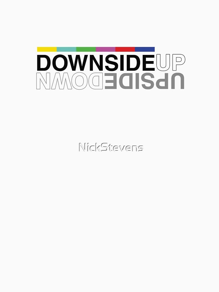 Upside Down Basic Logo by NickStevens