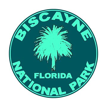 Biscayne National Park Florida Palm Tree by MyHandmadeSigns