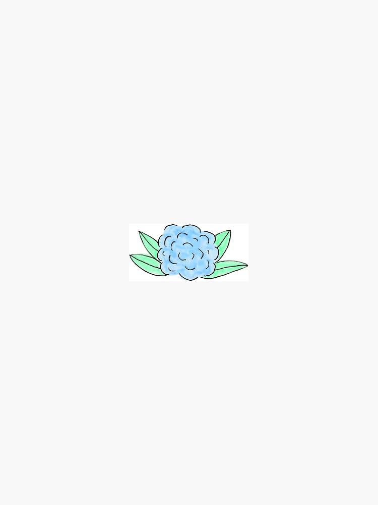 periwinkle hydrangea by ragray