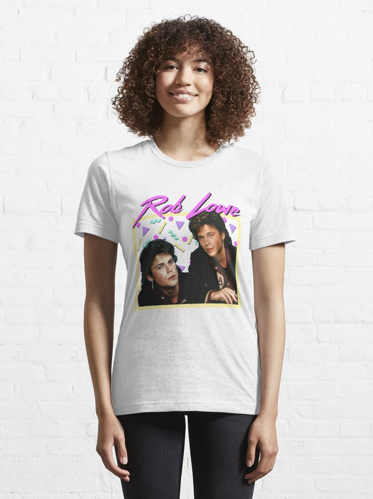 Alternate view of 80s Rob Lowe Essential T-Shirt