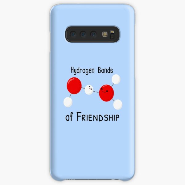 Hydrogen Bonds of Friendship Samsung Galaxy Snap Case
