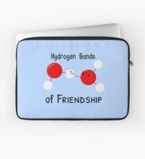 Hydrogen Bonds of Friendship Laptop Sleeve