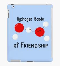 Hydrogen Bonds of Friendship iPad Case/Skin