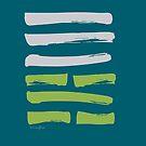 06 Conflict I Ching Hexagram by SpiritStudio