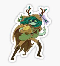 Pegatina Hora de Aventuras - Huntress Wizard