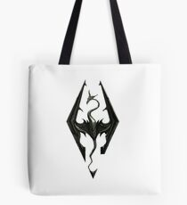 The Elder Scrolls V: Skyrim | High quality logo's (4K) Tote Bag