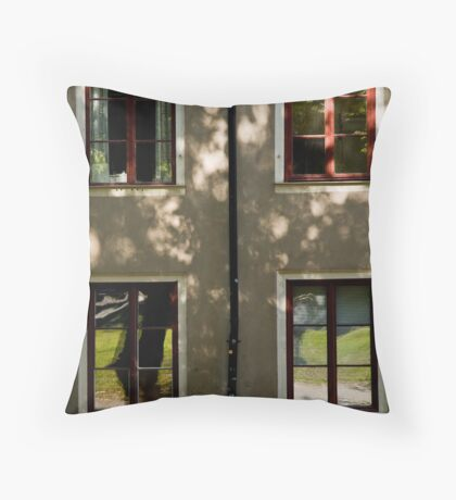 Colours and Squares Throw Pillow
