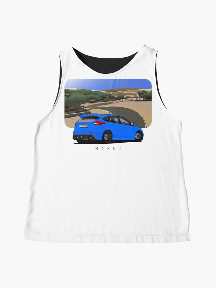 Alternate view of Focus RS in Laguna Seca Sleeveless Top