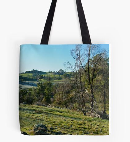 Morning Frost, Strathbogie Ranges,Victoria Tote Bag