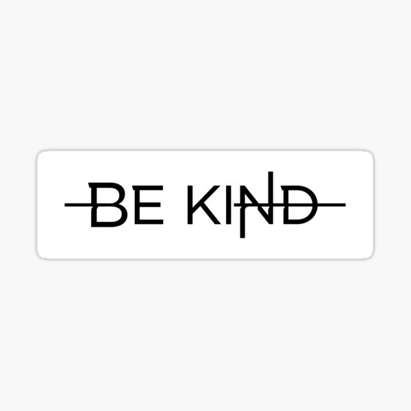 Be Kind - Simple Sticker