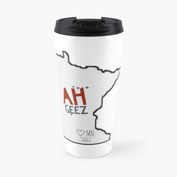 MINNESOTA AH GEEZ Travel Mug